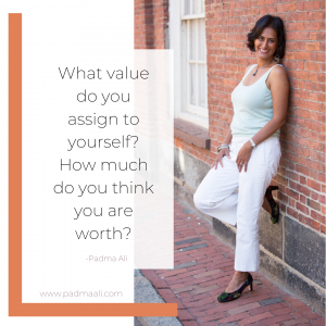 What value do you assign to yourself?How much do you think you are worth?