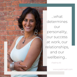 What determines our personality, our success at work, our relationships and our wellbeing